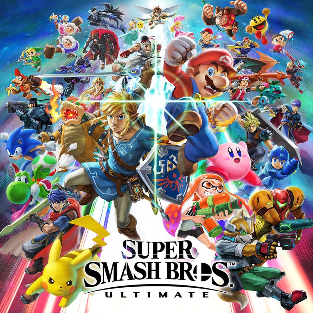 Super Smash Bros. Ultimate (Switch Mídia Digital Primária)