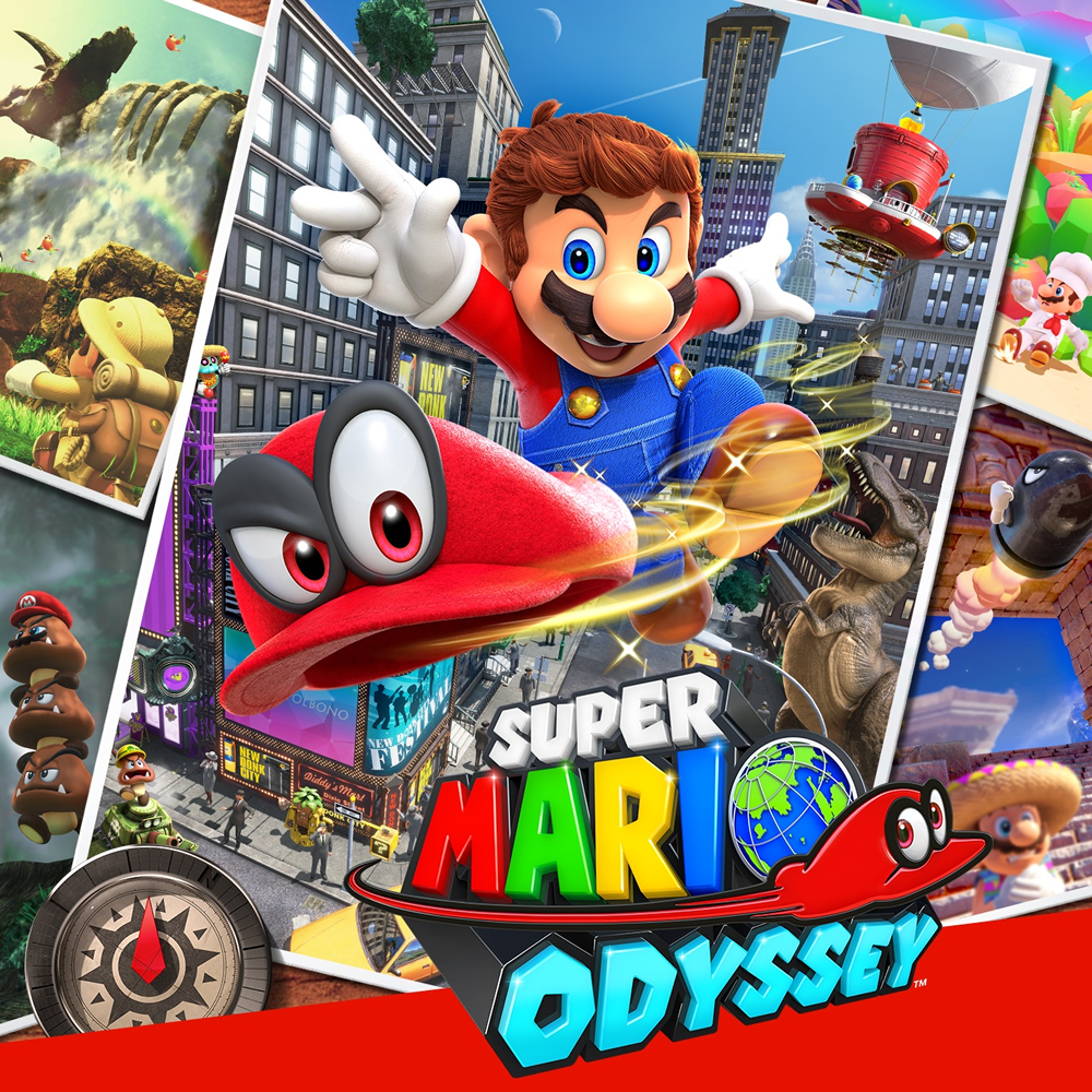 Super Mario Odyssey (Switch Mídia Digital Primária)